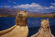 Puno, Lake Titicaca, Uros Islands (普諾、浮島、的的喀喀湖)